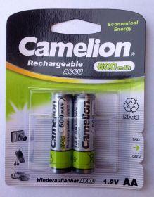 Camelion аккумулятор AA 600ma/h Bl-2/24/ ЦЕНА ЗА 1 ШТ! В УП 2 ШТ.