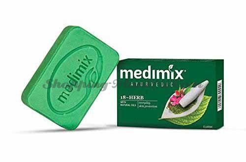 Медимикс Аюрведическое мыло 18 трав   Medimix Ayurvedic Classic 18 Herbs Soap