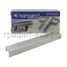 Скобы N23/6 Kangaro (1000 шт.)