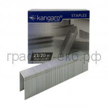 Скобы N23/20 Kangaro (1000 шт.)