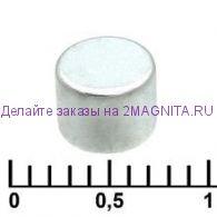Магнит неодимовый 3х2мм
