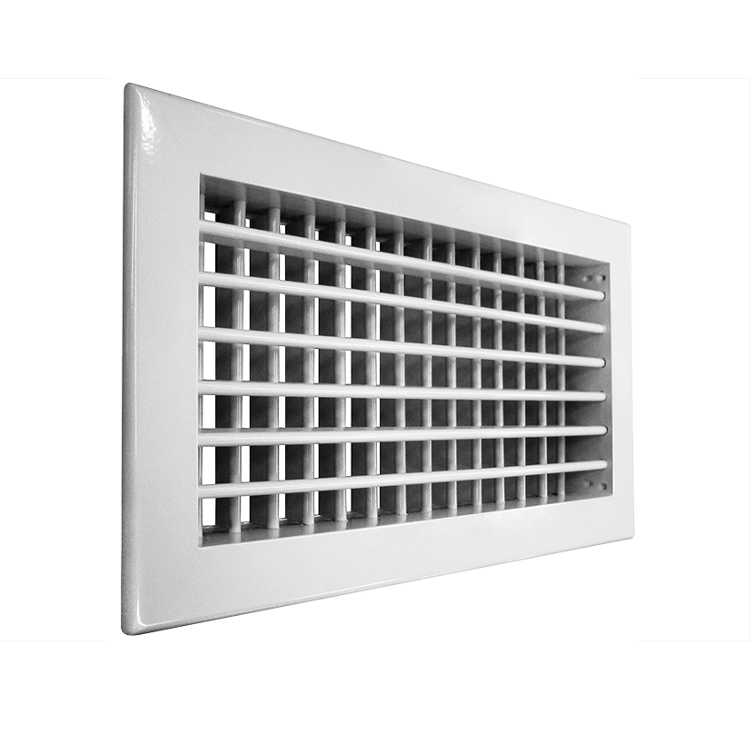Решетка алюминиевая вентиляционная АДН-К 400х200