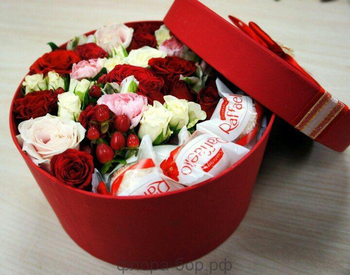 "Цветы в коробках ""Лямур"""