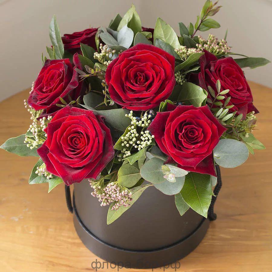 """Цветы в коробке """"Сеньорита"""""""