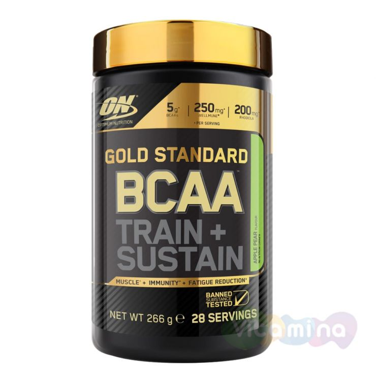 Optimum Nutrition Gold Standard BCAA 28 порций (serv)