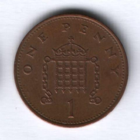 1 пенни 1994 г. Великобритания