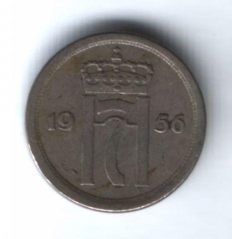 25 эре 1956 г. Норвегия