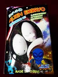 Растущие яйца инопланетян в наборе