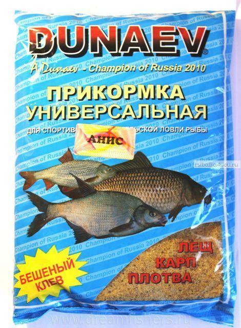 Прикормка Dunaev Классика 0.9кг Анис