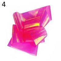 """Фольга/ слюда для дизайна эффект """"Битое стекло"""" №4, розовый хамелеон"""