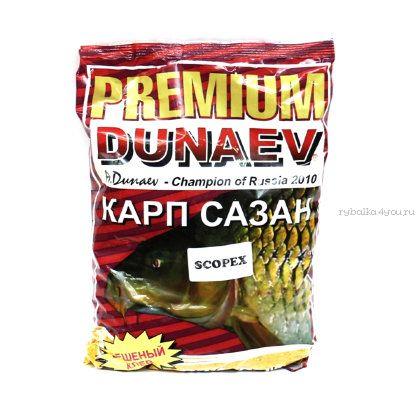 Прикормка Dunaev Premium  1кг Карп-Карась-Сазан (Scopex)