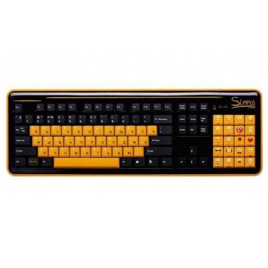 Клавиатура беспроводная CBR S18 Simple
