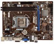 Материнская плата Lga1150 (чипсет H81, mATX, 2 слота DDR3) - MSI H81M-P33