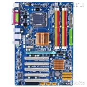 Материнская плата Lga775 (чипсет P43, ATX, 4 слота DDR2, разгон) - GIGABYTE GA-P43-ES3G