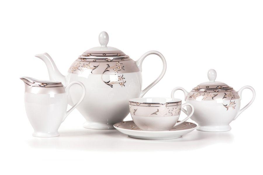 Чайный сервиз на 6 персон Mugets Du Paradie (Isis), 15 пр.