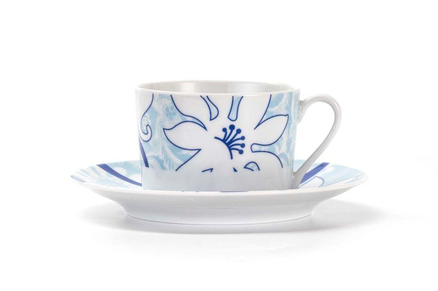 Чайный набор на 6 персон Bleu Sky (Mimosa), 220 мл, 12 пр.