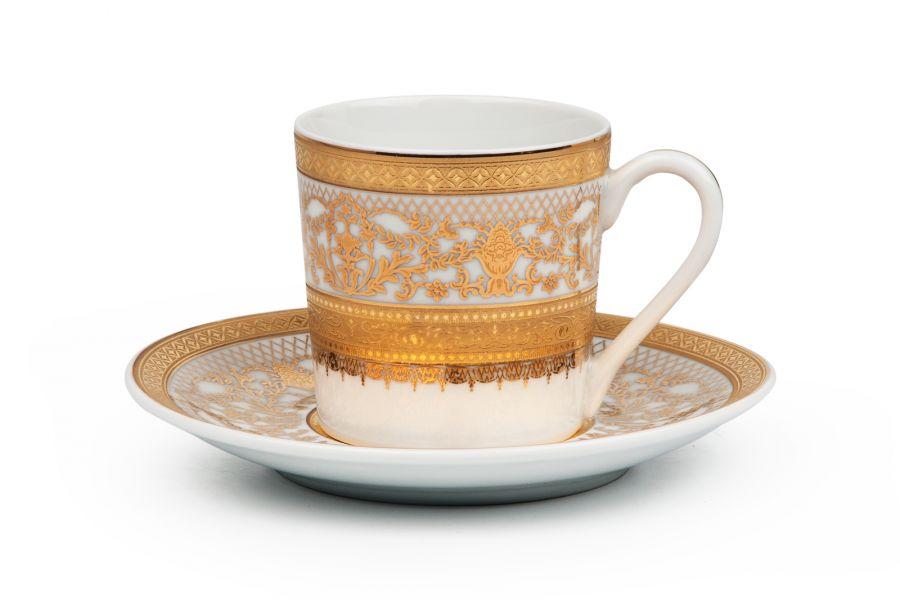 Кофейный набор на 6 персон Didon Or (Mimosa), 120 мл, 12 пр.
