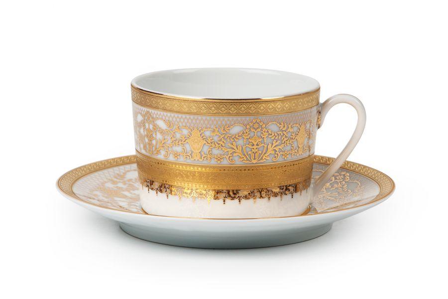 Чайный набор на 6 персон Didon Or (Mimosa), 220 мл, 12 пр.