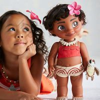 Кукла Моана Диснея в детстве
