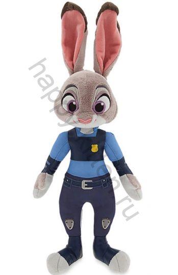 Мягкая игрушка заяц Джуди Хоппс