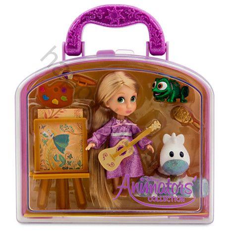 Кукла Рапунцель мини. Набор игрушек.