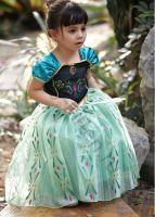 Платье принцессы Анны из мультика Холодное сердце