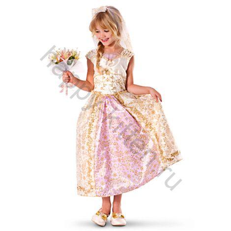 Платье Рапунцель Дисней  на рост 120, 130 см