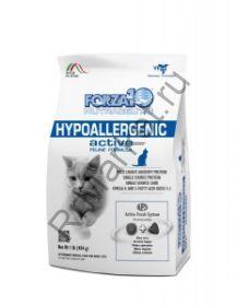 Forza10 (Форца10) Hypoallergenic Active ( гипоаллергенная диета для кошек, с рыбой).425г