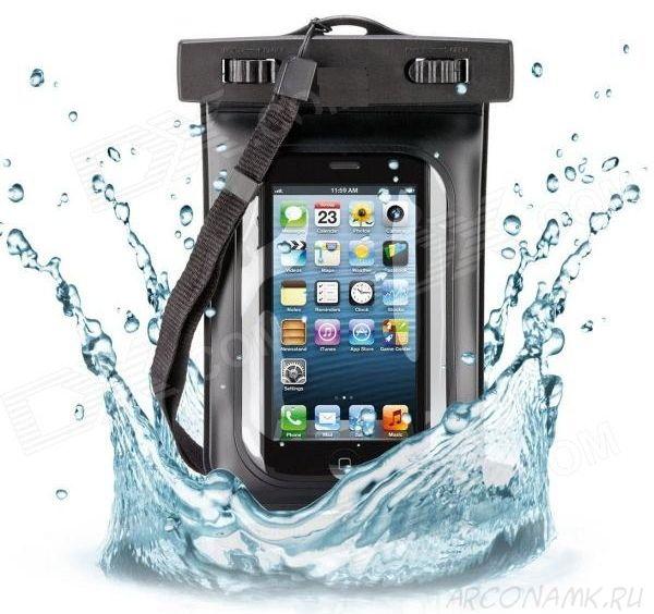 Водонепроницаемый чехол для телефона (iPhone5, iPhone6)