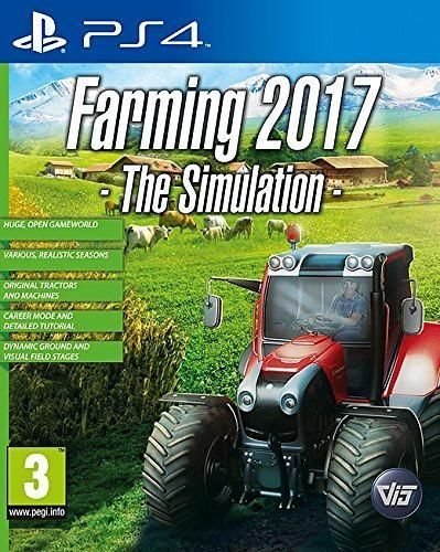 Игра Professional Farmer 2017 (ps4)
