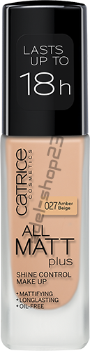 Catrice / Тональный крем All Matt Plus - Shine Control Make Up