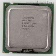 Процессор Intel Pentium 4 540 - lga775/478, 90 нм, 1 ядро/1 поток, 3.2 GHz, 84W [377]