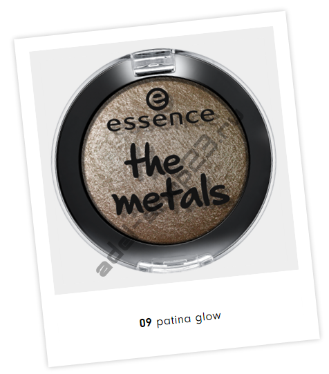 "Essence - Тени для век ""Metal Glam"""
