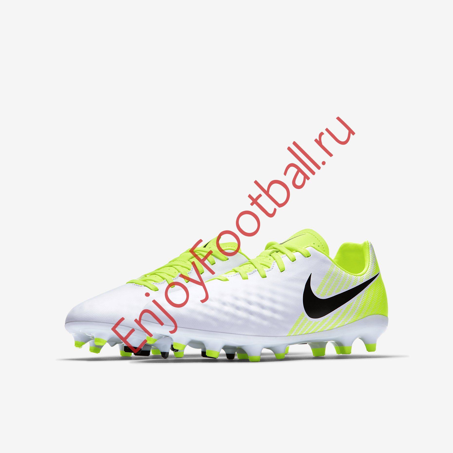 Детские бутсы NIKE MAGISTA OPUS II FG 844415-109 JR - детская футбольная  обувь Магиста ... 29d62c4a5cf