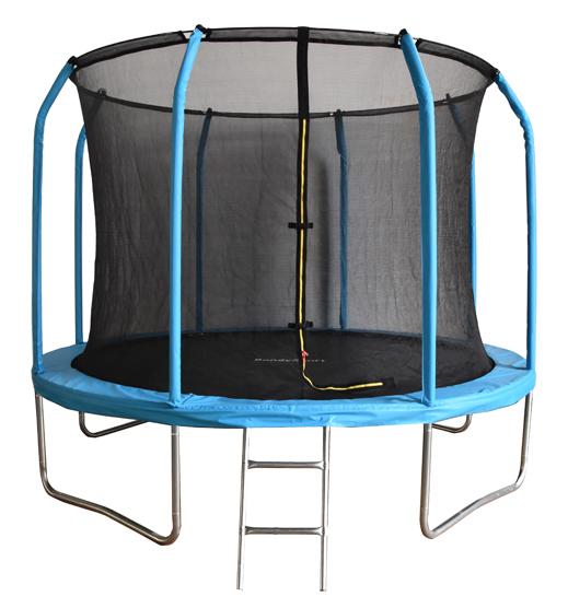 Батут с внутренней защитной сеткой - Bondy Sport 6FT (1,83м), цвет синий