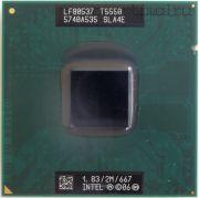 Процессор мобильный Intel T5550 (SLA4E) - 478, 65 нм 2 ядра/2 потока, 1.83 GHz, TDP-35W [1040]