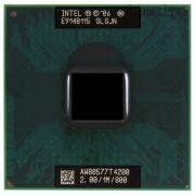 Процессор мобильный Intel T4200 (SLGJN) - 478, 45 нм, 2 ядра/2 потока, 2.0 GHz, TDP-35W [1147]