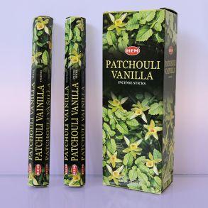Благовония HEM Hexa PATCHOULI-VANILLA пачули ваниль