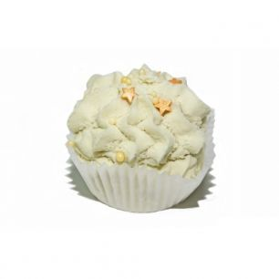 """ChocoLatte"" ПЕНА твердая ЛАЙМ-ТАЙМ для ванн, эф.масла лайма,лимона,бергамота,в кор.80±5г"
