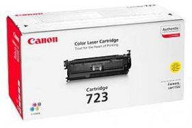 картридж оригинальный  Canon CARTRIDGE 723 Y yellow 2641B002
