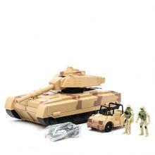 Игровой набор-трансформер Танк-командный центр 35 см MotorMax