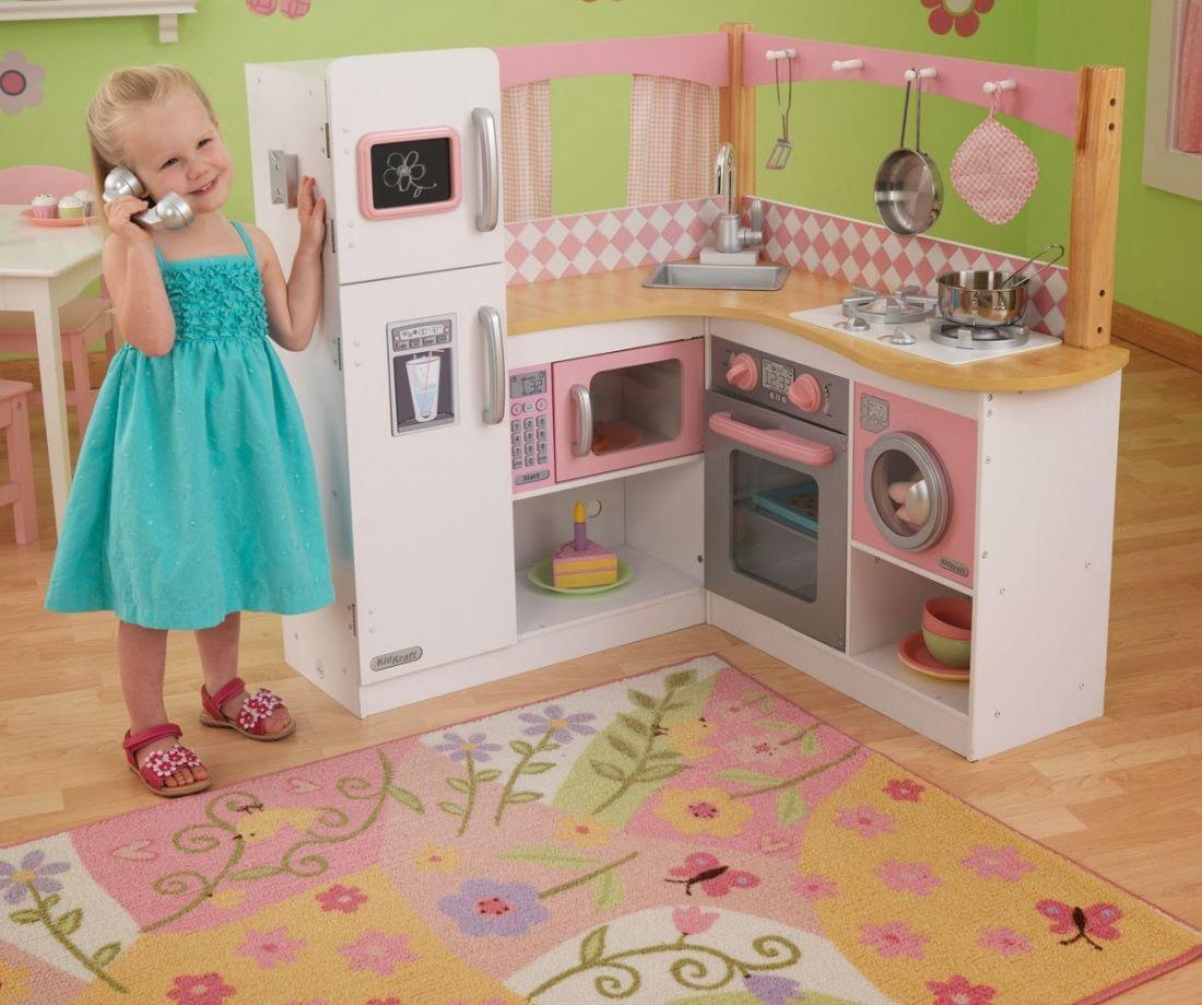 Детская деревянная кухня Kidkraft для гурманов 53185