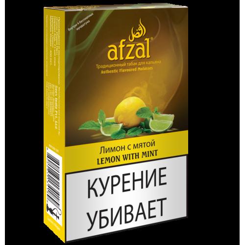 Табак для кальяна Afzal Lemon with Mint