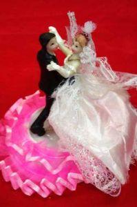 Свадебная пара Вальc (12 см)