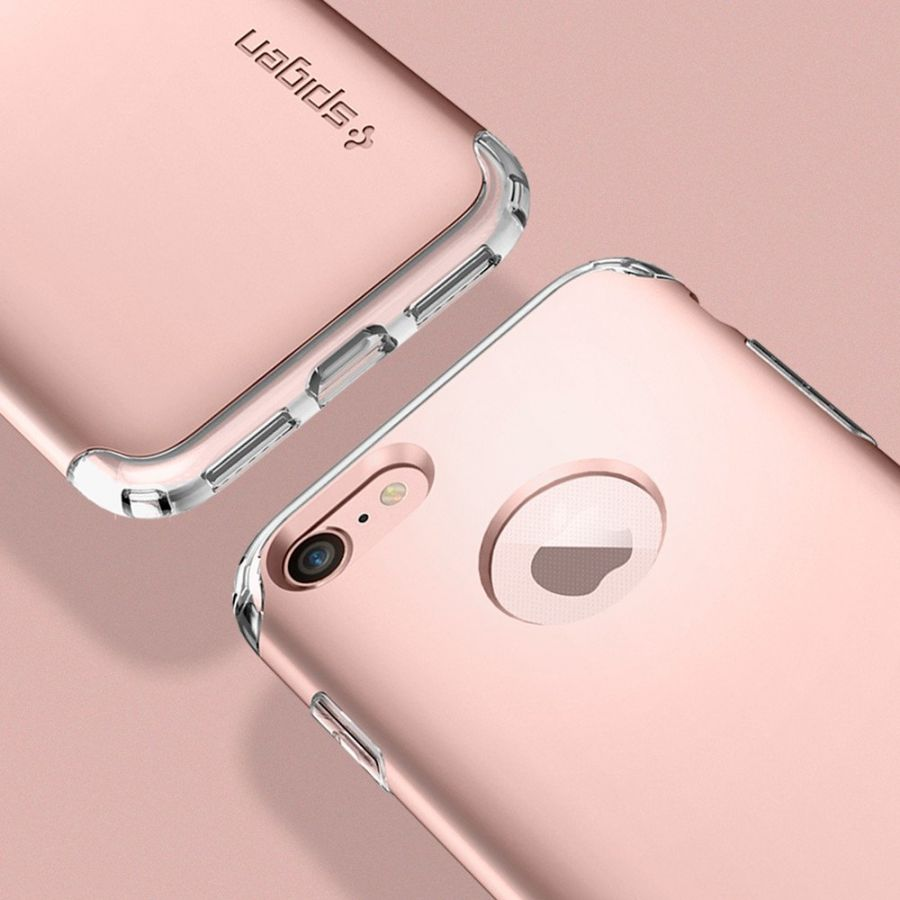 Чехол Spigen Hybrid Armor для iPhone 7 розовое золото