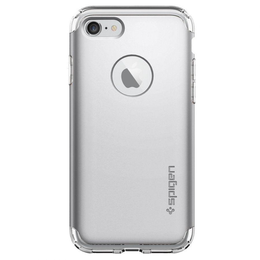 Чехол Spigen Hybrid Armor для iPhone 7 серебристый