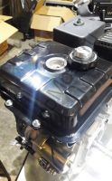 Lifan 190F C Pro D25 (15 л. с.) с катушкой освещения 7Ампер (84Вт) четырехтактный бензиновый двигатель в стандартной комплектации, мощностью 15 л. с., и диаметром выходного вала 25 мм.