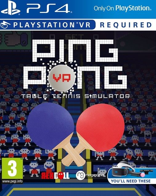 Игра Ping Pong VR (PS4 VR)