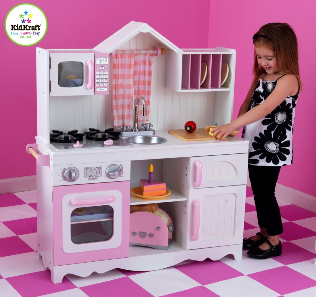 Кухня деревянная KidKraft Modern 53222