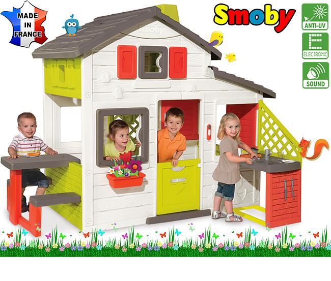 Большой уличный дом smoby + кухня 810200